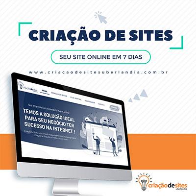 Criação de Sites Uberlândia